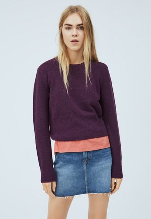 WENDY - Jumper - cassis