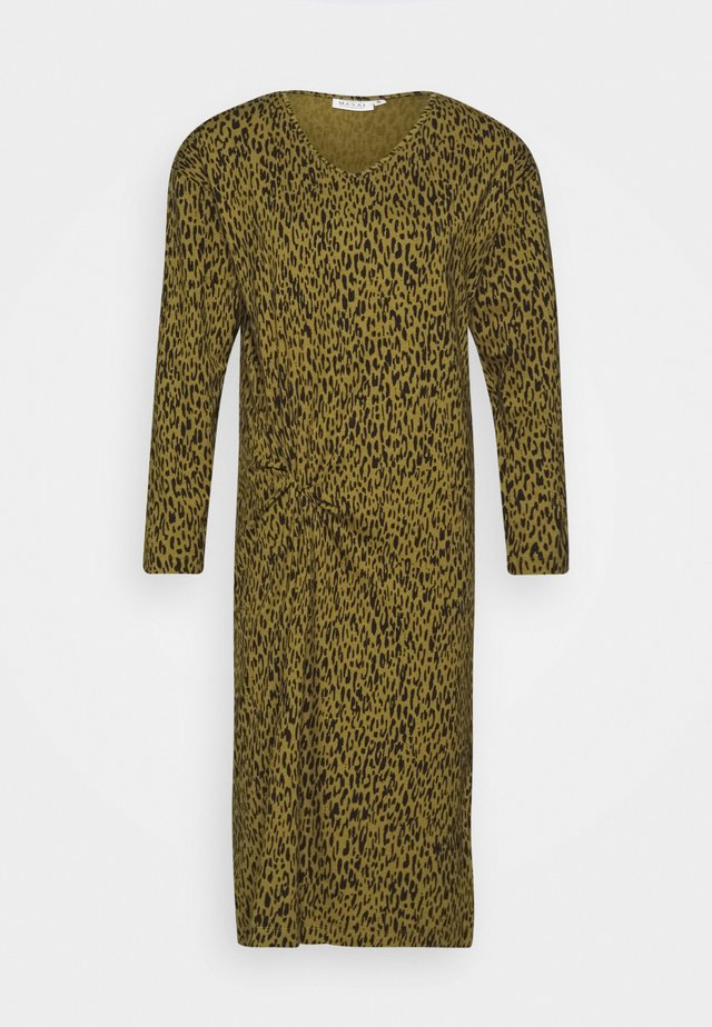 GLADYS - Robe en jersey - olive