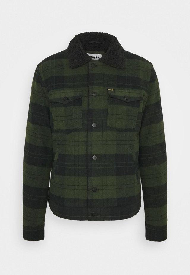 SHERPA JACKET - Light jacket - rifle green