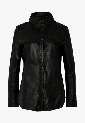 MIES - Button-down blouse - black