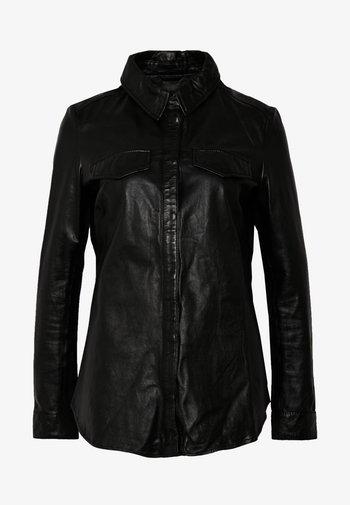 MIES - Button-down blouse - black
