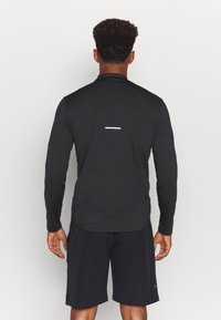 ASICS - ICON WINTER ZIP - Long sleeved top - performance black/carrier grey - 2