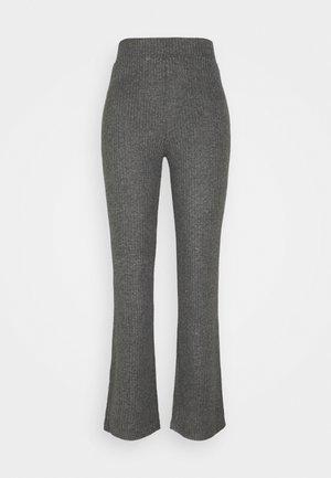STINA TROUSERS - Pyjamahousut/-shortsit - grey melange