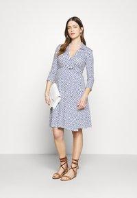 Slacks & Co. - AVA - Jersey dress - aztec blue - 1