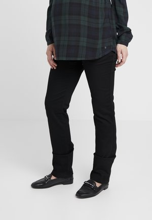 PANTS GRACE - Jeansy Straight Leg - black