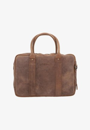 Briefcase - haselnussbraun