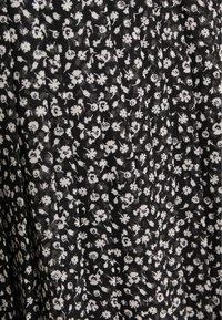 Hollister Co. - PLEATED SKIRT - A-line skirt - black - 2