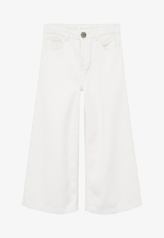 ELENA - Bootcut jeans - gebroken wit