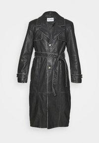 SLIM COAT - Trenchcoat - black