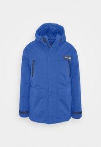 Winter coat - azur blue