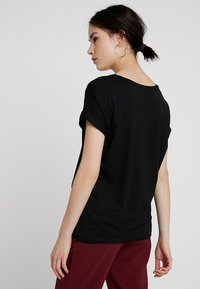 ONLY - ONLMOSTER - Basic T-shirt - black/solid black - 2