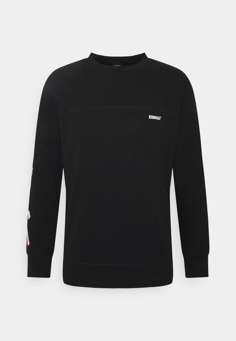Diesel - BMOWT-WILLY - Sweatshirt - black