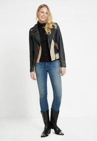 Maze - TICABOO - Leather jacket - black - 1