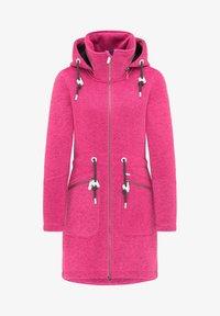 ICEBOUND - Krátký kabát - pink melange - 4