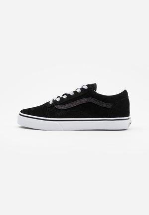 OLD SKOOL - Sneakersy niskie - glitter/black/true white