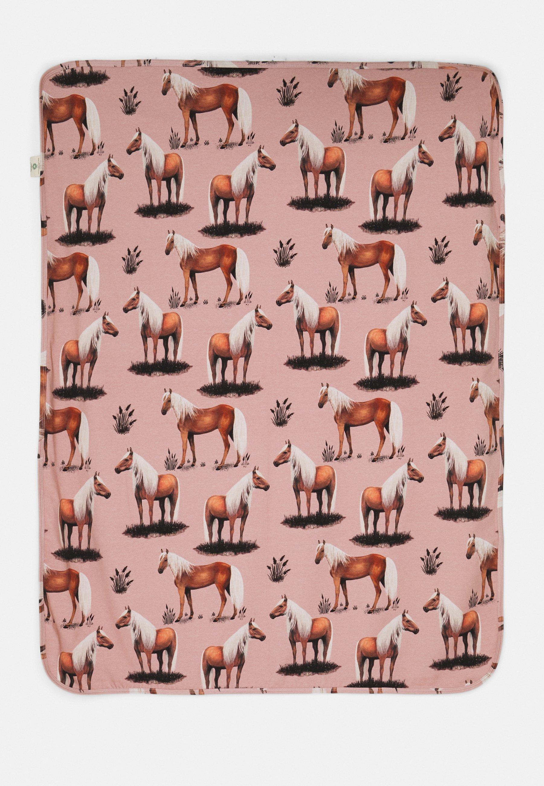 Kids BLANKET BEAUTY HORSES UNISEX - Baby blanket