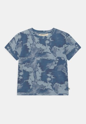 IRIM ASGER UNISEX - Print T-shirt - dusty blue