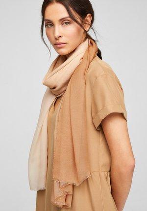 Scarf - beige/brown