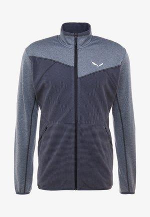 PUEZ HYBRID - Fleece jacket - ombre blue melange