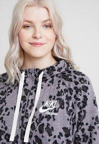 Nike Sportswear - GYM PLUS - Cardigan - grey/anthracite - 3