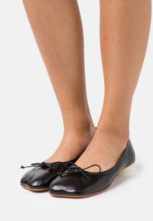 BALLET SHOE - Baleríny - black