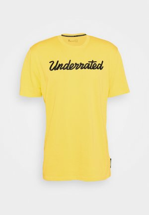 EMBROIDERED TEE - Basic T-shirt - taxi