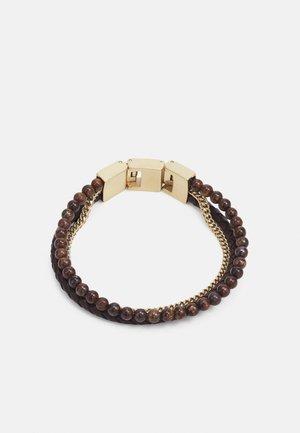 VINTAGE CASUAL - Bracelet - brown/gold-coloured