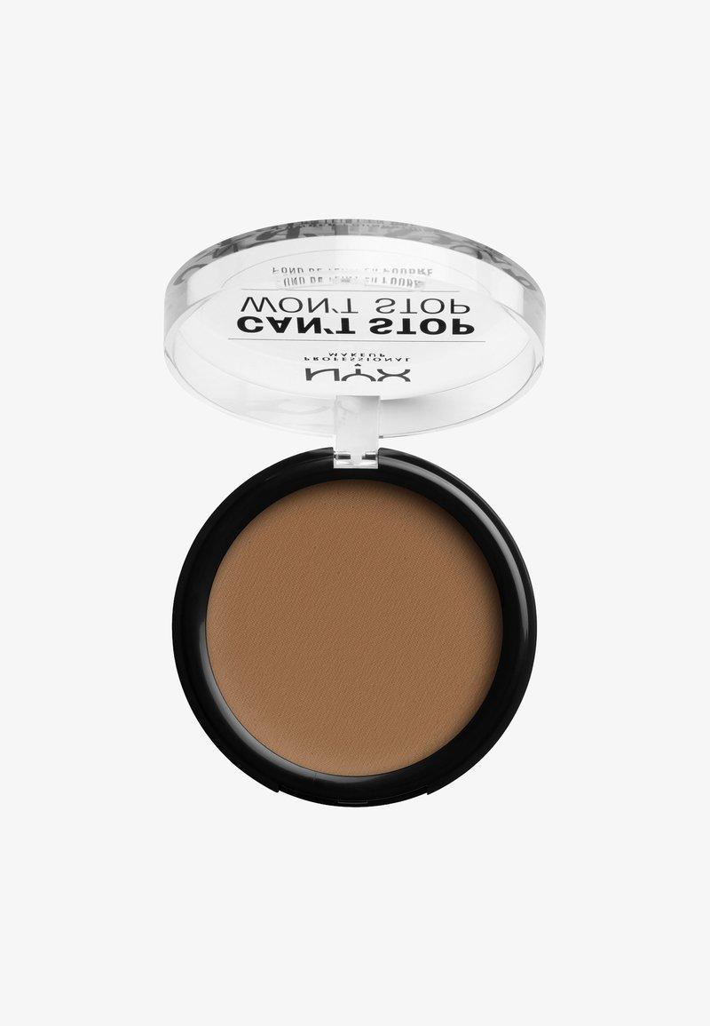 Nyx Professional Makeup - CAN'T STOP WON'T STOP POWDER FOUNDATION - Powder - CSWSPF16 mahogany