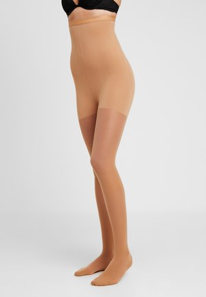 30 DEN WOMAN SHAPE TIGHTS TRANSLUCENT - Strømpebukser - teint