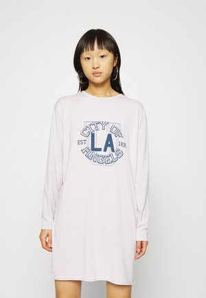 Jersey dress - lilac