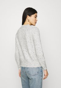 Marks & Spencer London - SPONGEY JUMPER - Strikkegenser - grey