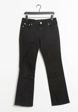 Straight leg jeans - black