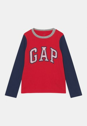 LOGO - Long sleeved top - pure red