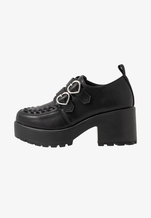 VEGAN - Zapatos de plataforma - black