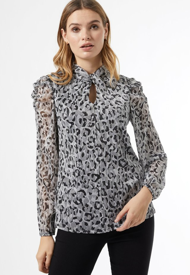 BILLIE AND BLOSSOM - Blouse - grey