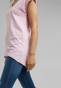 edc by Esprit - Basic T-shirt - pink - 4