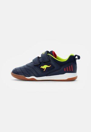 CAYARD - Sneaker low - dark navy/lime