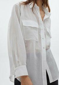 Massimo Dutti - Chemisier - white - 1
