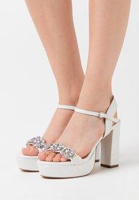 Lulipa London - LEANDRA - High heeled sandals - white - 0