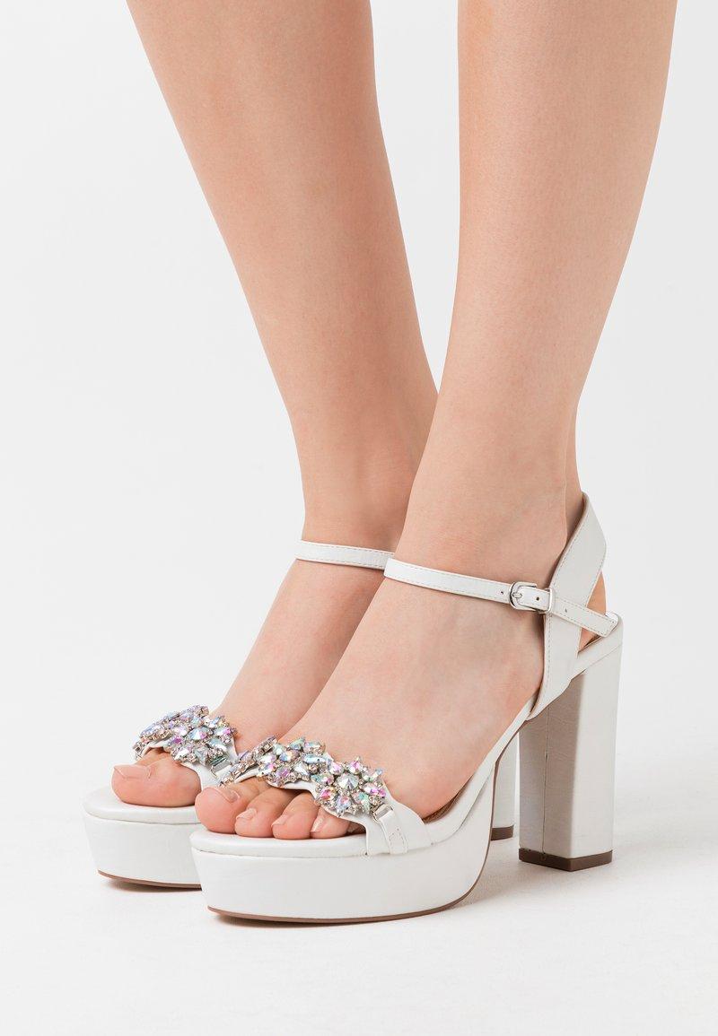 Lulipa London - LEANDRA - High heeled sandals - white