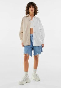 Bershka - Summer jacket - stone - 1