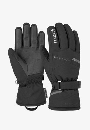 HANNAH  - Gloves - black/black melange