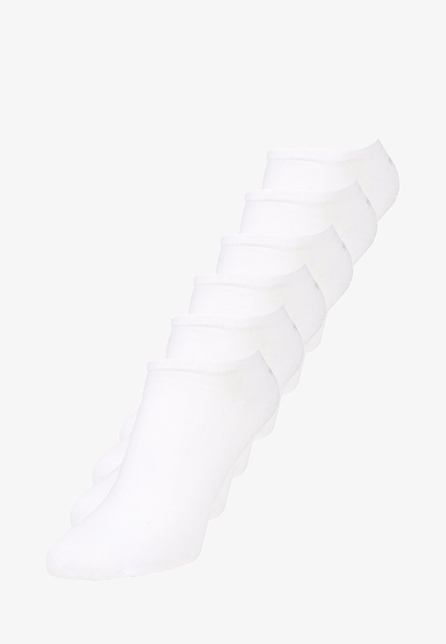 6 PACK - Socks - white