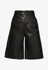Monki - LENNIE CULOTTE - Pantalones - black dark - 3