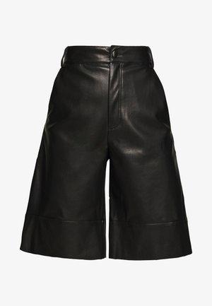 LENNIE CULOTTE - Pantalon classique - black dark