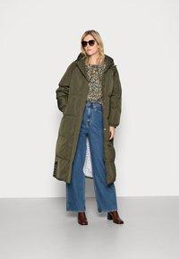 Résumé - ALEXA JACKET - Winter coat - army - 1