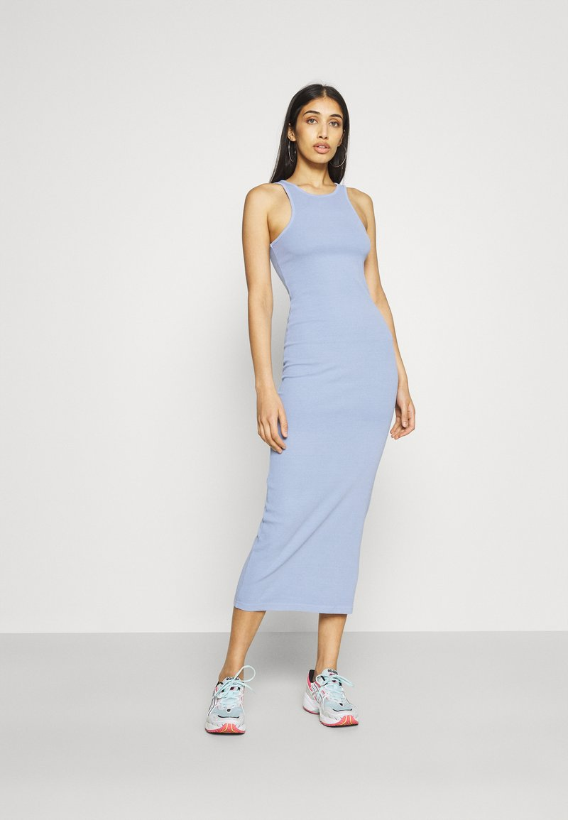 Weekday - STELLA DRESS - Jerseykleid - blue