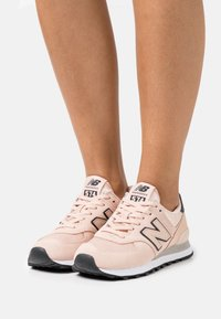 New Balance - WL574 - Sneakers basse - rose water - 0