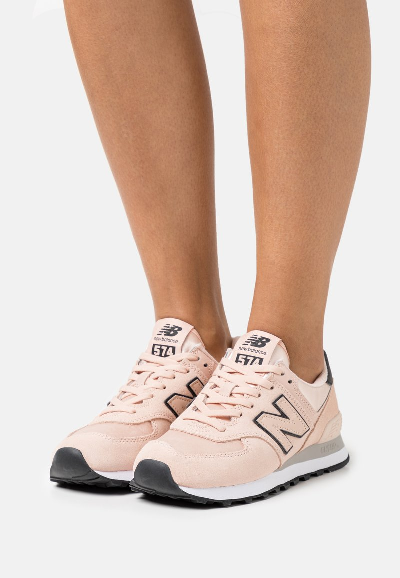 New Balance - WL574 - Sneakers basse - rose water