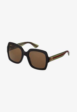 Sunglasses - black/gree/brown
